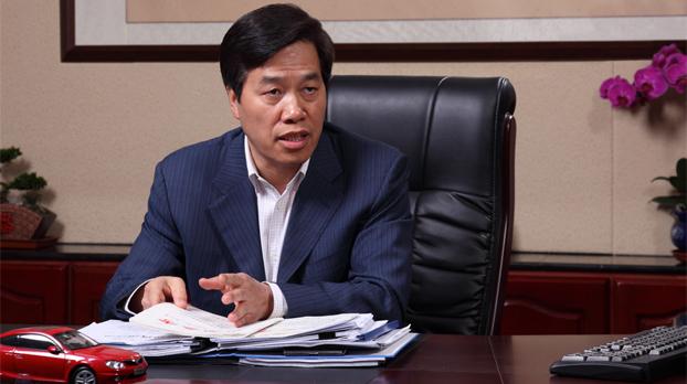 """祁玉民被福布斯中文版评为""""2013年中国最佳CEO"""""""