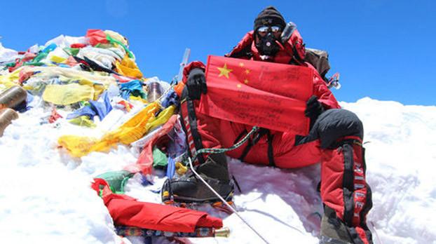 三次蹬珠峰 山让他学会了宠辱不惊