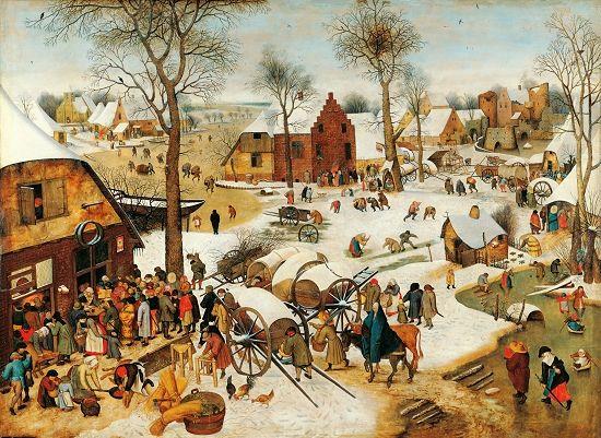 小彼得·勃鲁盖尔致力于临摹父亲老彼得·勃鲁盖尔的绘画精品,老彼得