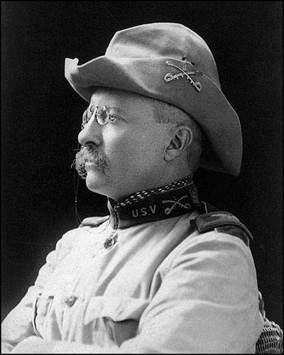 西奥多-罗斯福被誉为现代美国的缔造者