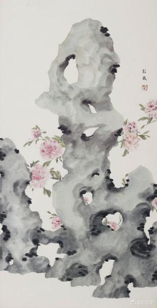 彭薇(b.1974)太湖石