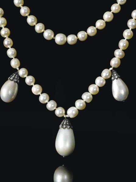 约瑟芬皇后旧藏珍珠项链