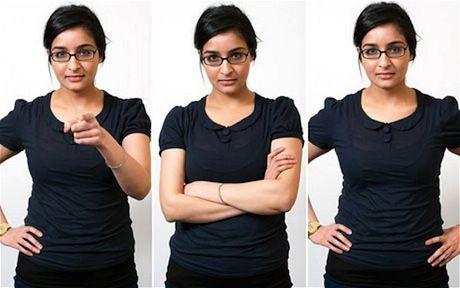 15大身体语言秘技助你跨上成功巅峰