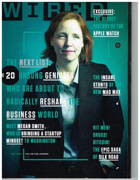 图为最新期《连线》杂志封面