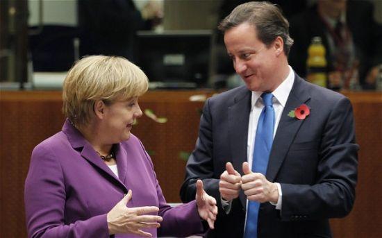 """默克尔说德国无意修改英国""""脱欧""""协议"""
