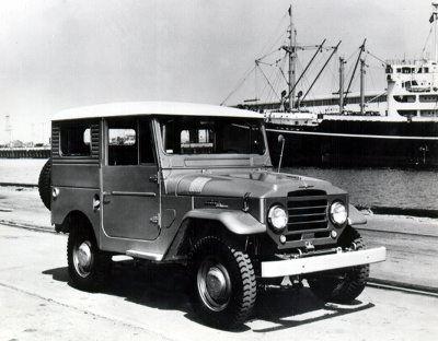 早期的丰田汽车