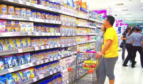 中国奶粉价格战已全面打响