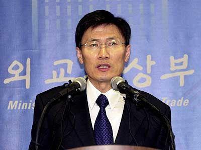 韩国外交部前部长尹永宽