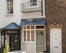 伦敦中心仅2米宽房子售价1100万