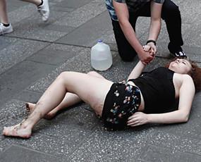 纽约时代广场惊现驾车撞人1死23伤