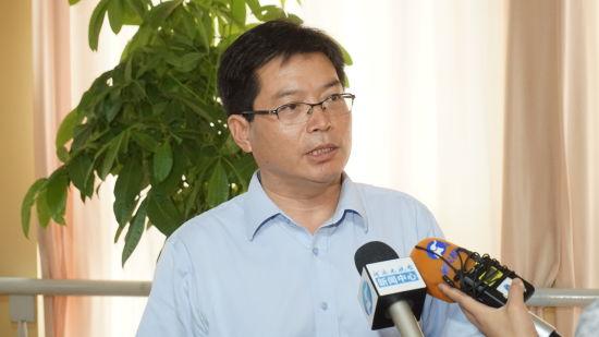 中联重科开封工业园党委副书记王振钢