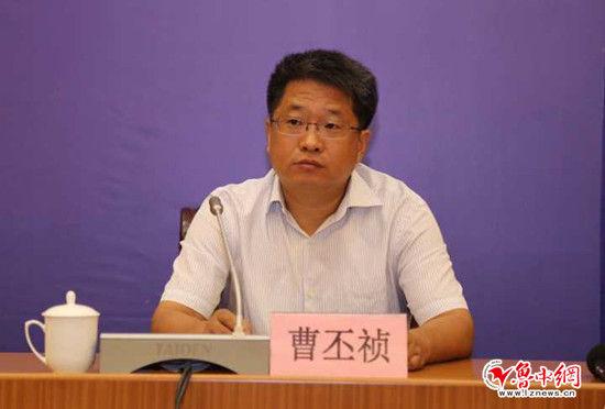 市文广新局党委委员、副局长 曹丕祯作新闻发布。