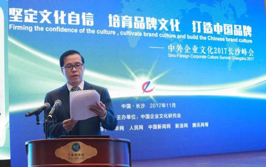 中外企业文化2017长沙峰会隆重开幕