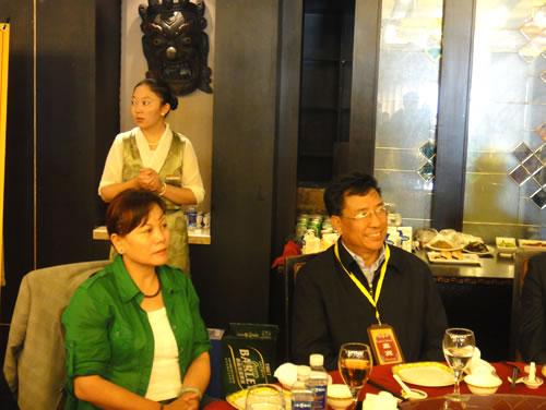 """巴珠局长出席""""西藏优・敏芭芬芳之旅雅聚活动"""""""