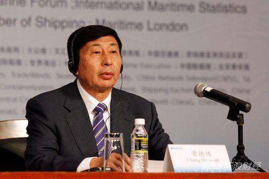 图文:嘉宾中国青岛港董事局主席,总裁常德传