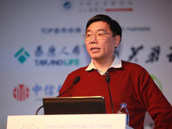 图为:中国工商银行董事长姜建清。(新浪财经 梁斌摄)