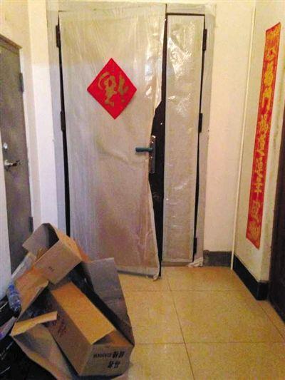 昨日上午,哈尔滨浦江路时代广场D座6A房间,翔鹰集团最后的办公地点,正在重新装修出租。新京报记者 胡涵 摄