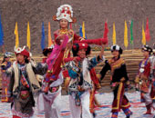 羌族婚礼坐轿