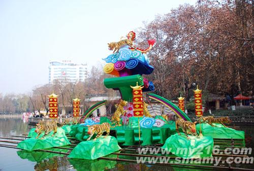 2010年绵阳迎春灯展创历届之最