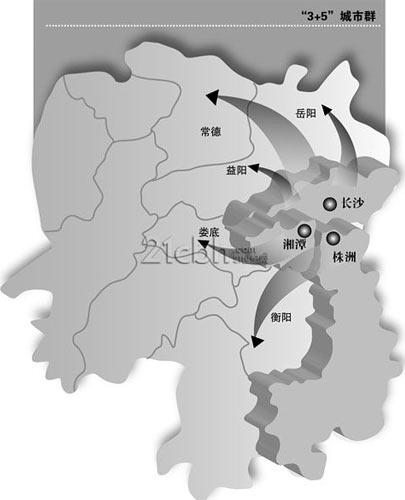 湖南:3+5城市群一体化提速 城际铁路建设先行