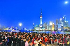 上海外滩经33个月改造重新开放(图)