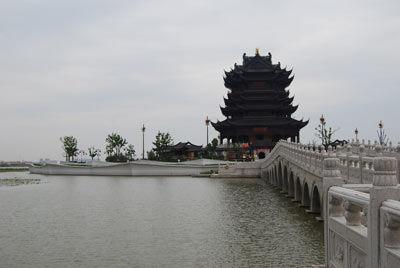 全国网媒携手同游苏州千年古刹重元寺(图)