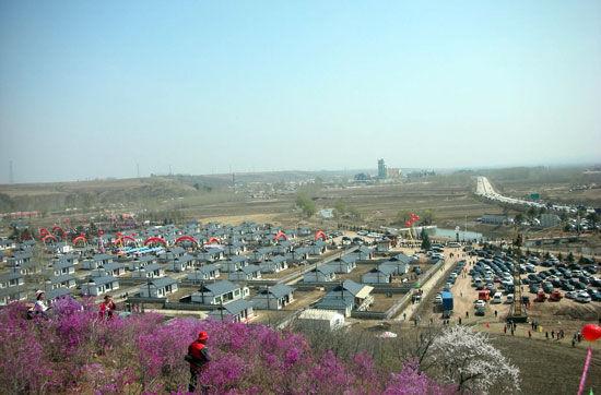 和龙市候选景区:金达莱民俗村(组图)
