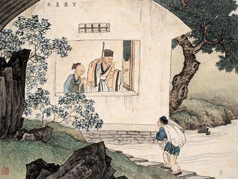 古代二十四孝故事:百里负米(图)