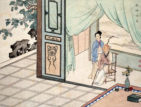 古代二十四孝故事:乳姑不怠(图)