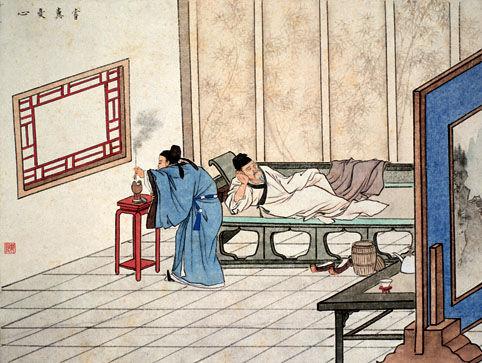 古代二十四孝故事:尝粪忧心(图)