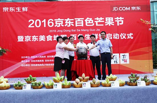 2016百色芒果节正式启动