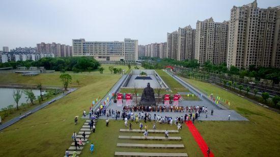 2017年孙武祭祀大典在苏州相城孙武纪念园举行