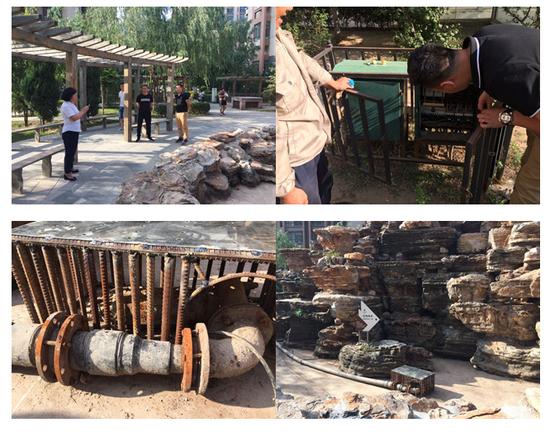 呼和浩特:安监局对小区及公共场所喷泉设施进行安全执法检查