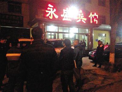 """2月16日,张洋与警方在河北霸州永盛宾馆找到她丢失的""""高尔夫"""",但车行老板拒还车。"""