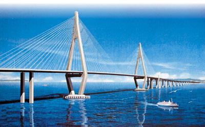 港珠澳大桥勘察设计工作启动 今年底力争开工