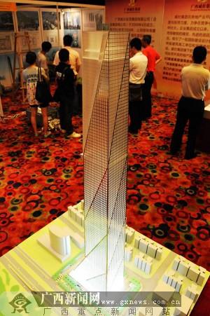 广西南宁将建超450米高楼(组图)