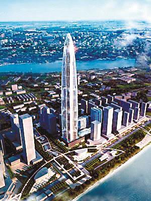网友称武汉建全球第三高楼投资达迪拜塔3倍(图)