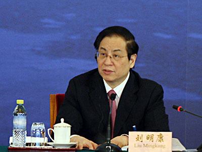 刘明康:中国银行业将在危机中独树一帜