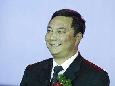 图文:内蒙古伊利实业集团总裁助理陈福泉