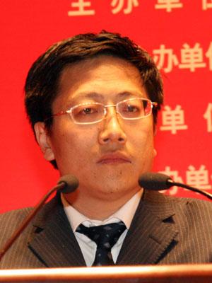 图文:山西省平遥县旅游局局长李宏正发言