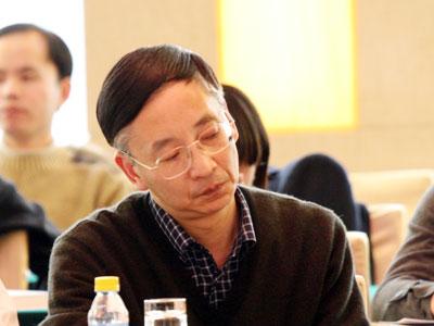 图文:北京师范大学金融系主任贺力平