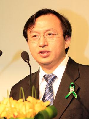 图文:科技部全球环境办公室副主任吕学都