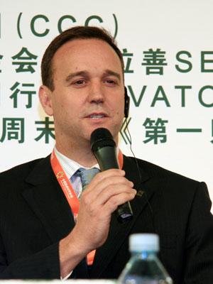 图文:WWF中国区首席代表欧达梦