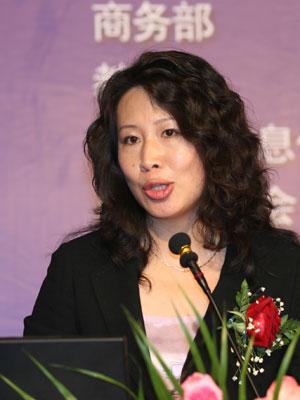 图文:中国投资担保有限公司执行总裁颜红力