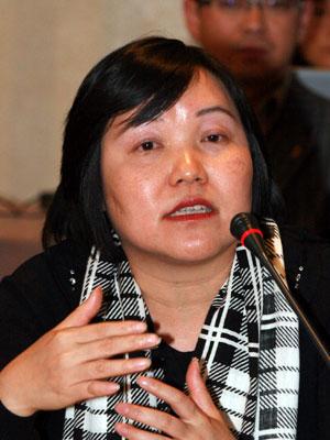 图文:盛世长城广告广州分公司副总经理苏惠芬