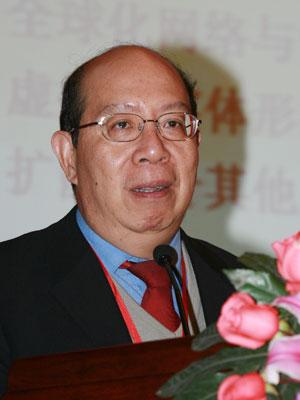 图文:上海社科院文化产业中心主任花建演讲