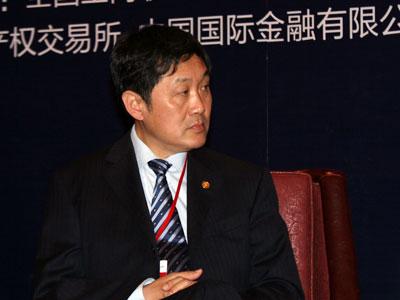 图文:北京产权交易所董事长熊焰