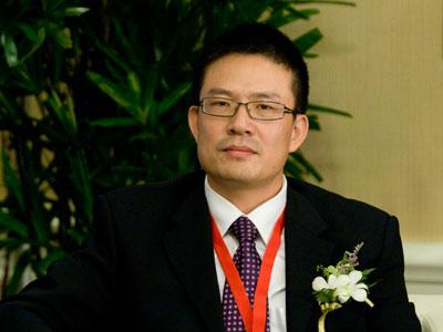 图文:英糖集团中国区主任滕钢