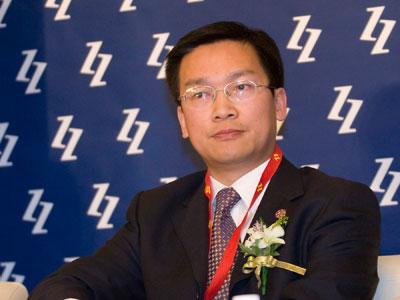 图文:友成企业家扶贫基金会秘书长甘东宇