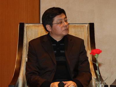 图文:北京大学信息管理系副系主任周庆山